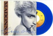 "TRUE BLUE - USA LIMITED EDITION BLUE 7"" VINYL"